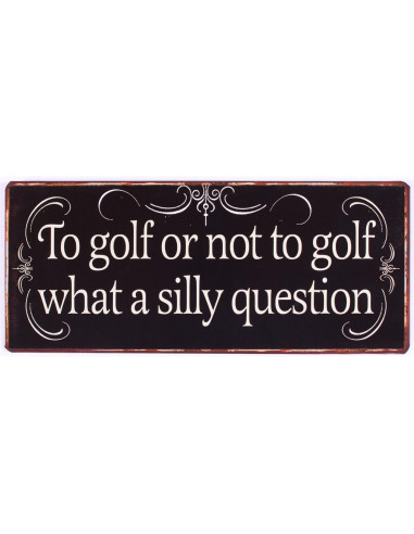 To golf or not