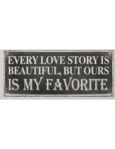 Every love story is...
