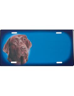 Brun Labrador Retriever Skilt