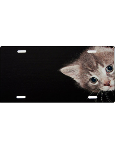 Kattekilling skilt sort