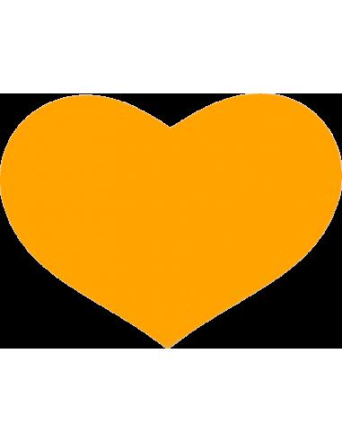 Guldfarvet Hjerte